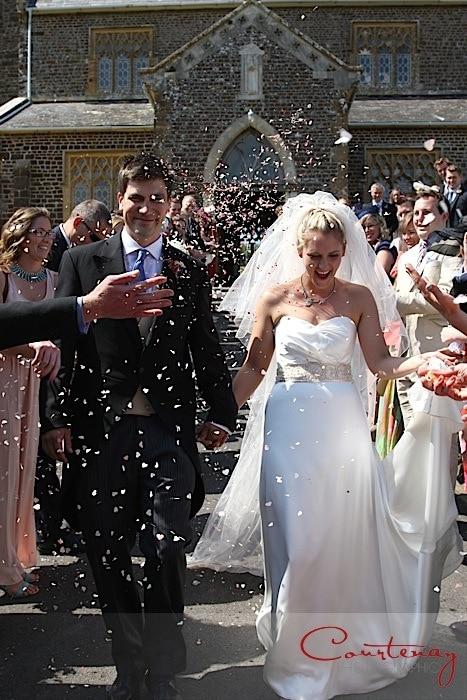Sherford Farm Dorset Wedding of Stephanie & David