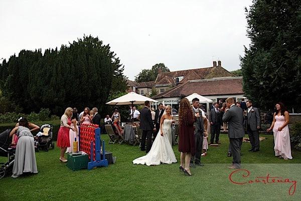 wedding party eastbury hotel dorset