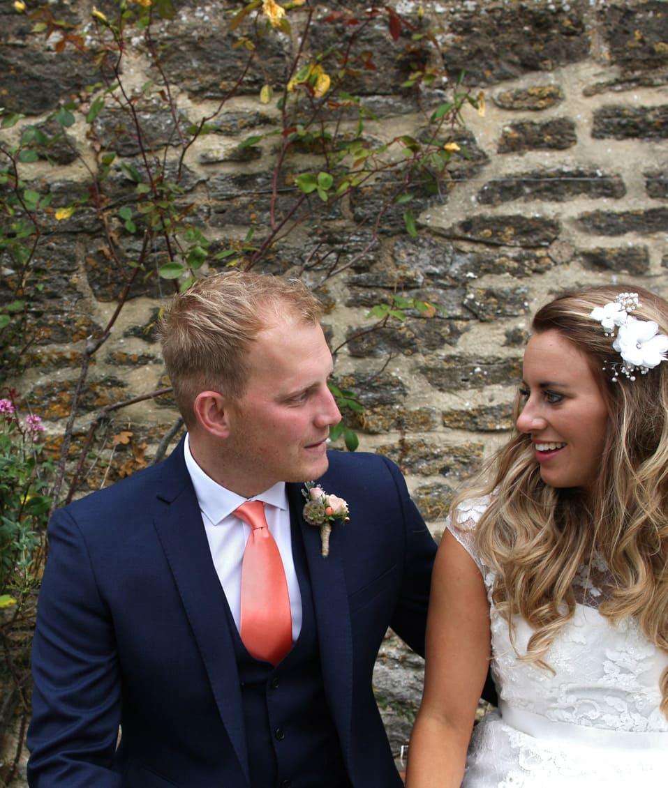 Stockbridge Farm Barn Dorset Wedding of Rosi & Nick