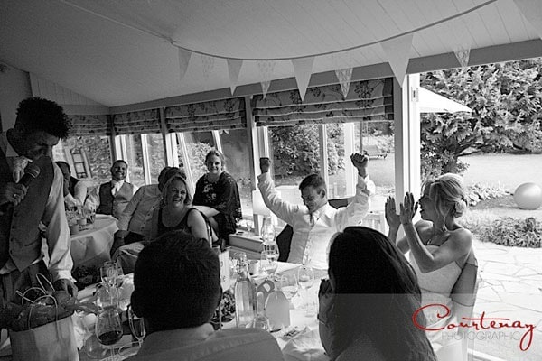 groom cheers speeches