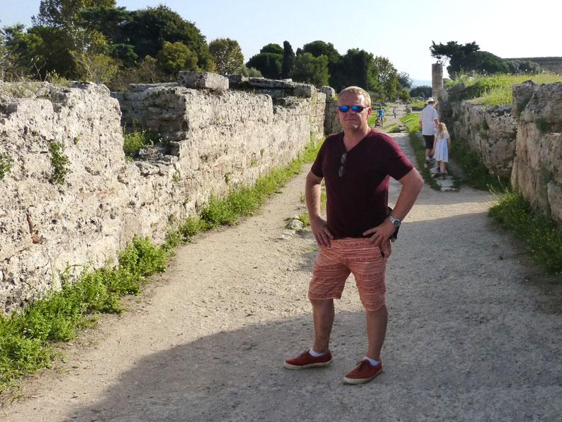 Courtenay-Paestum-Italy