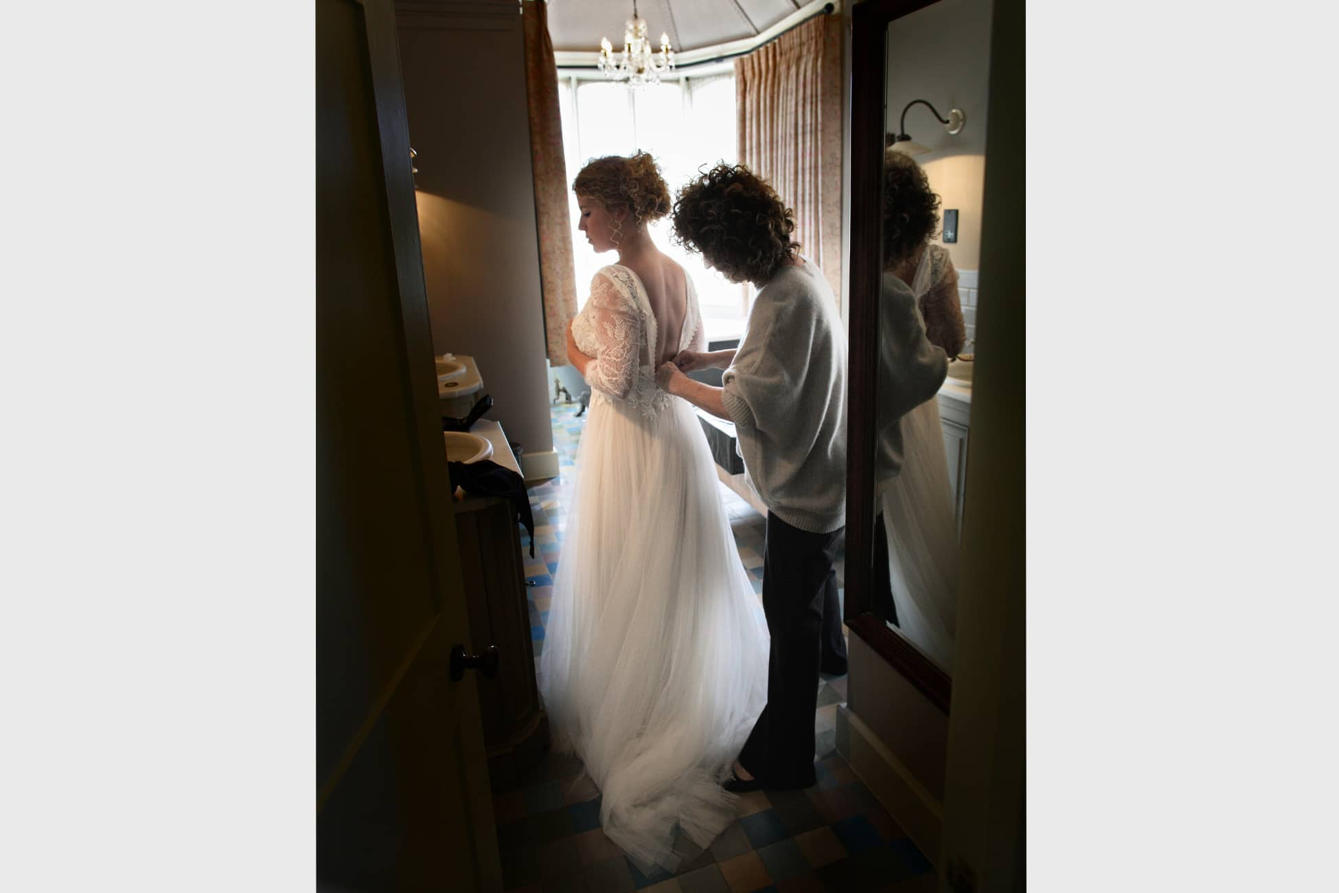 putting-on-the-dress