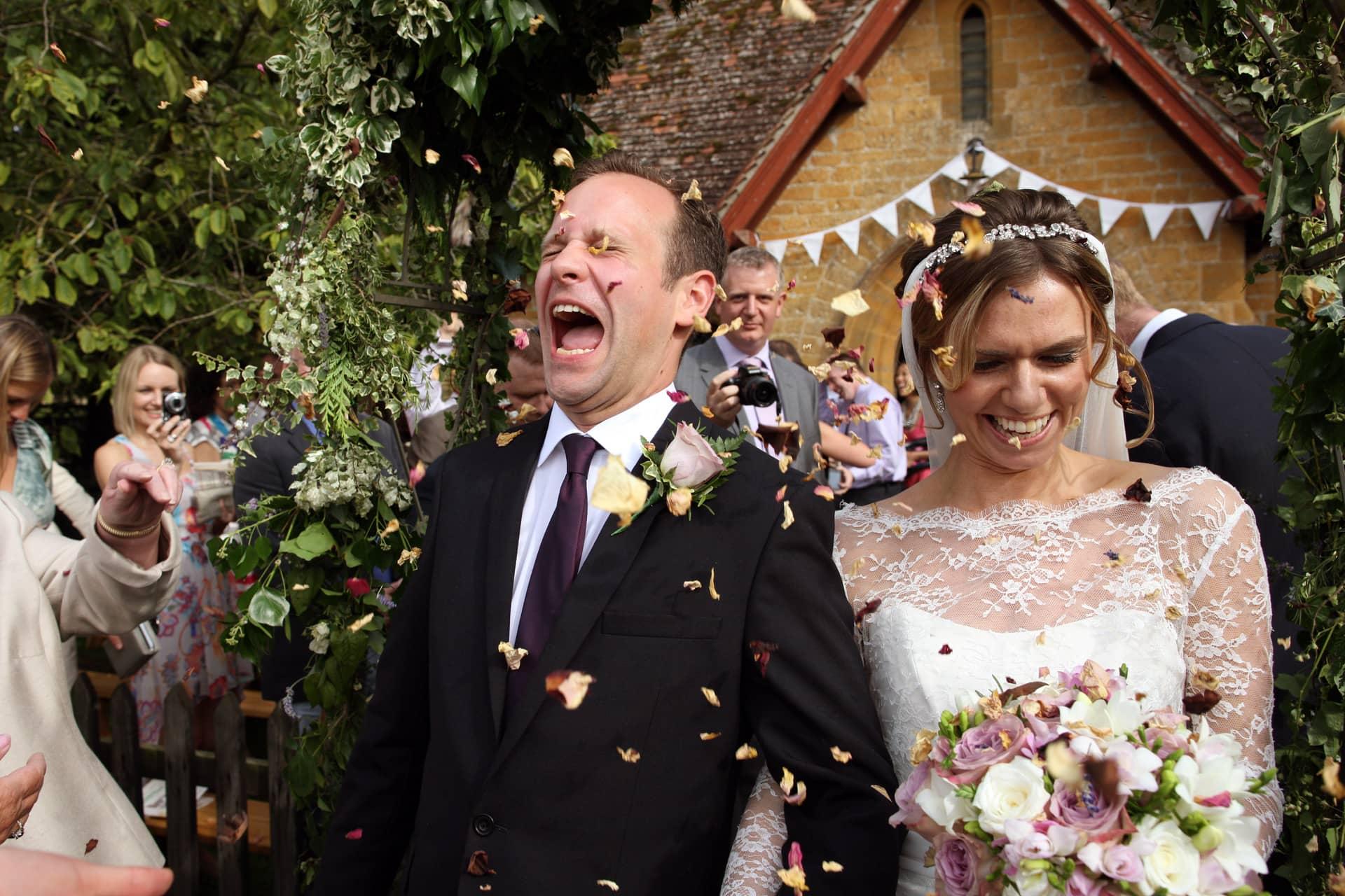 wedding-confetti-tiny-dorset-church