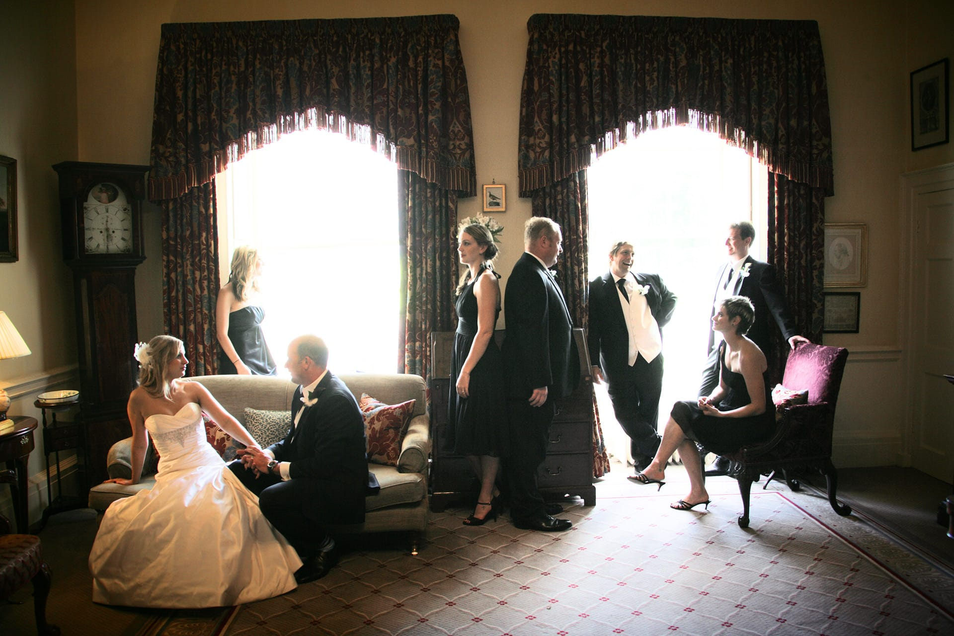 wedding-party-formal-american-style