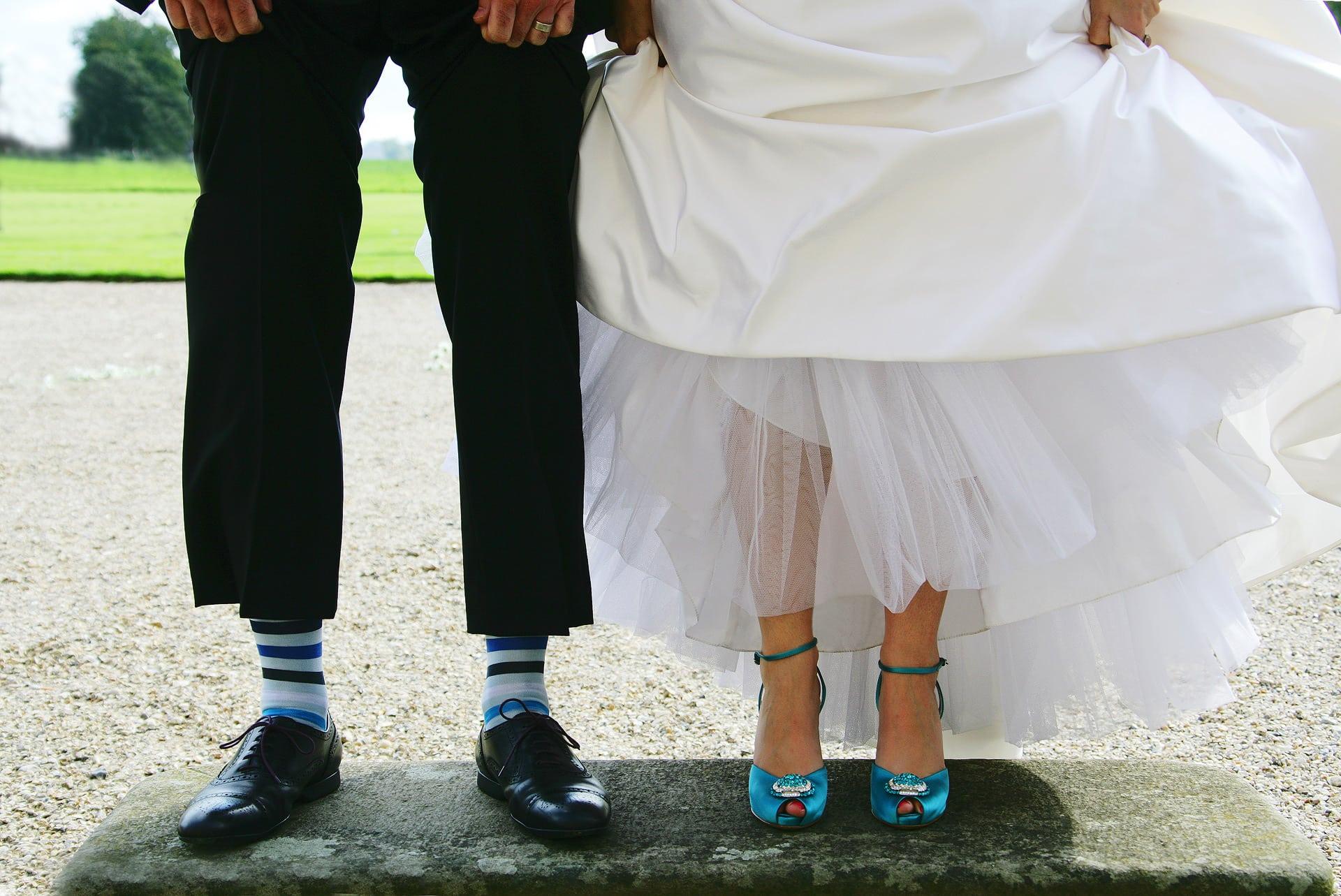 wedding-shoes-blue-stripy-socks