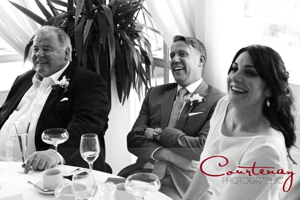 groom laughs at best mans speech