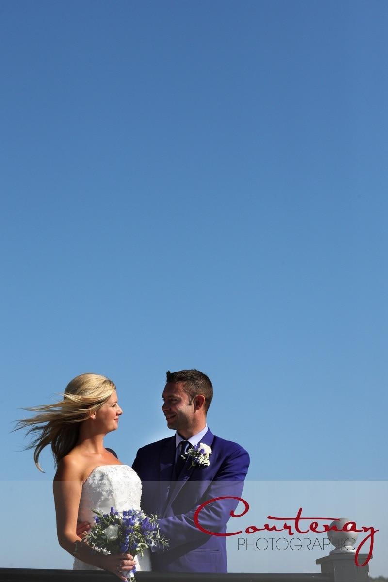 happy couple enjoy the autumn sunshine