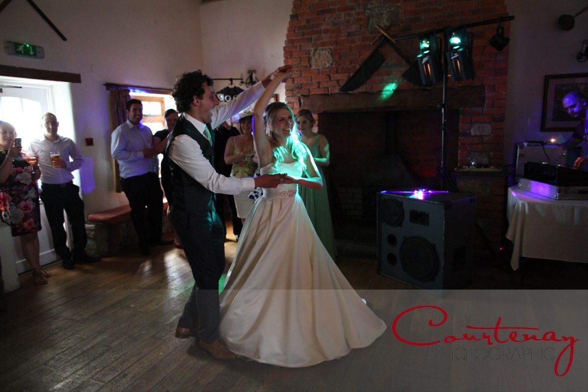 first dance for happy couple