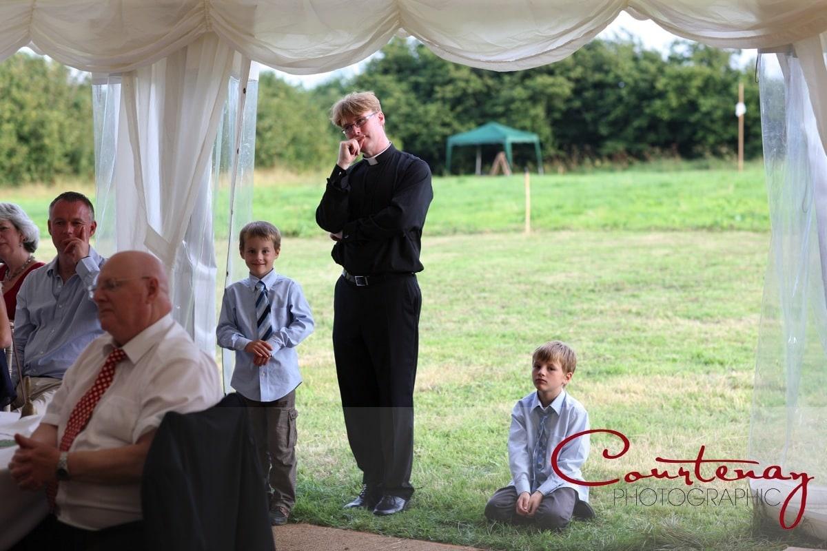 guests listen to speeches