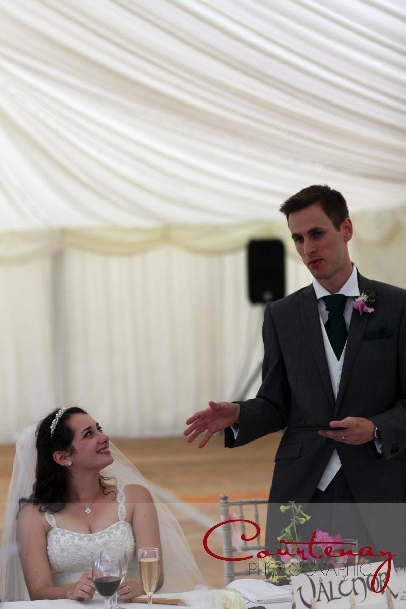 grooms wedding speech to guests