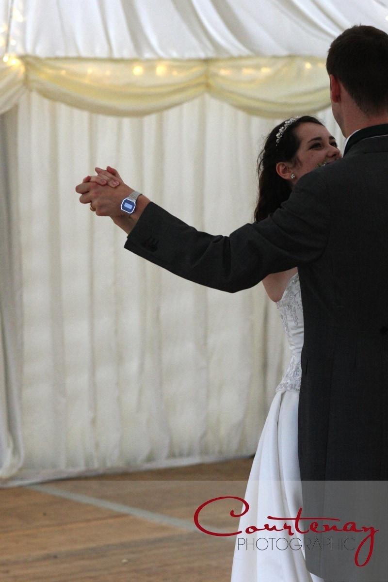 couple take first dance