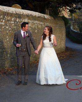 Symondsbury Tithe Barn Dorset Wedding of Jenna & Stephen
