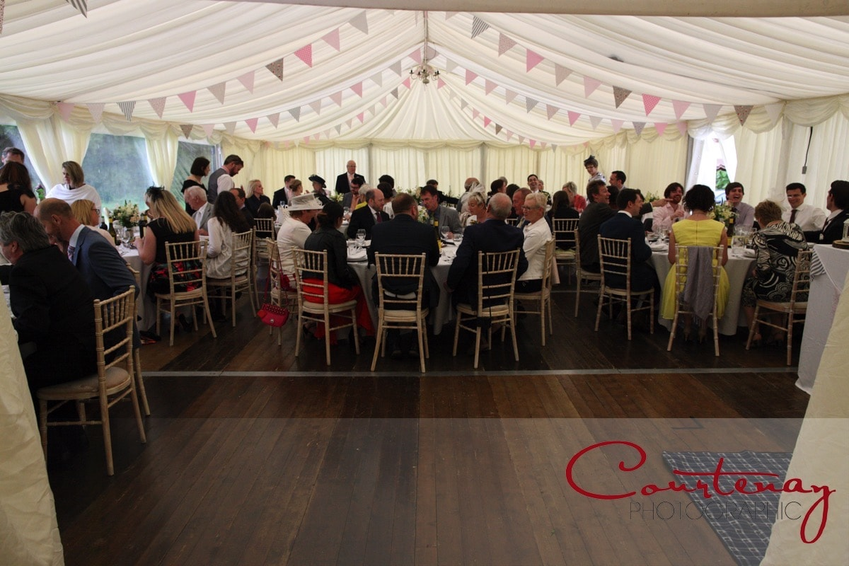 Southover House Wedding marquee