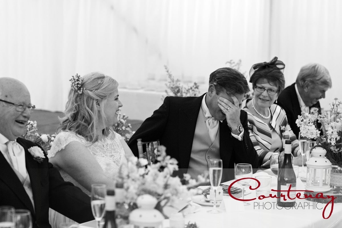 best man's speech provokes a reaction