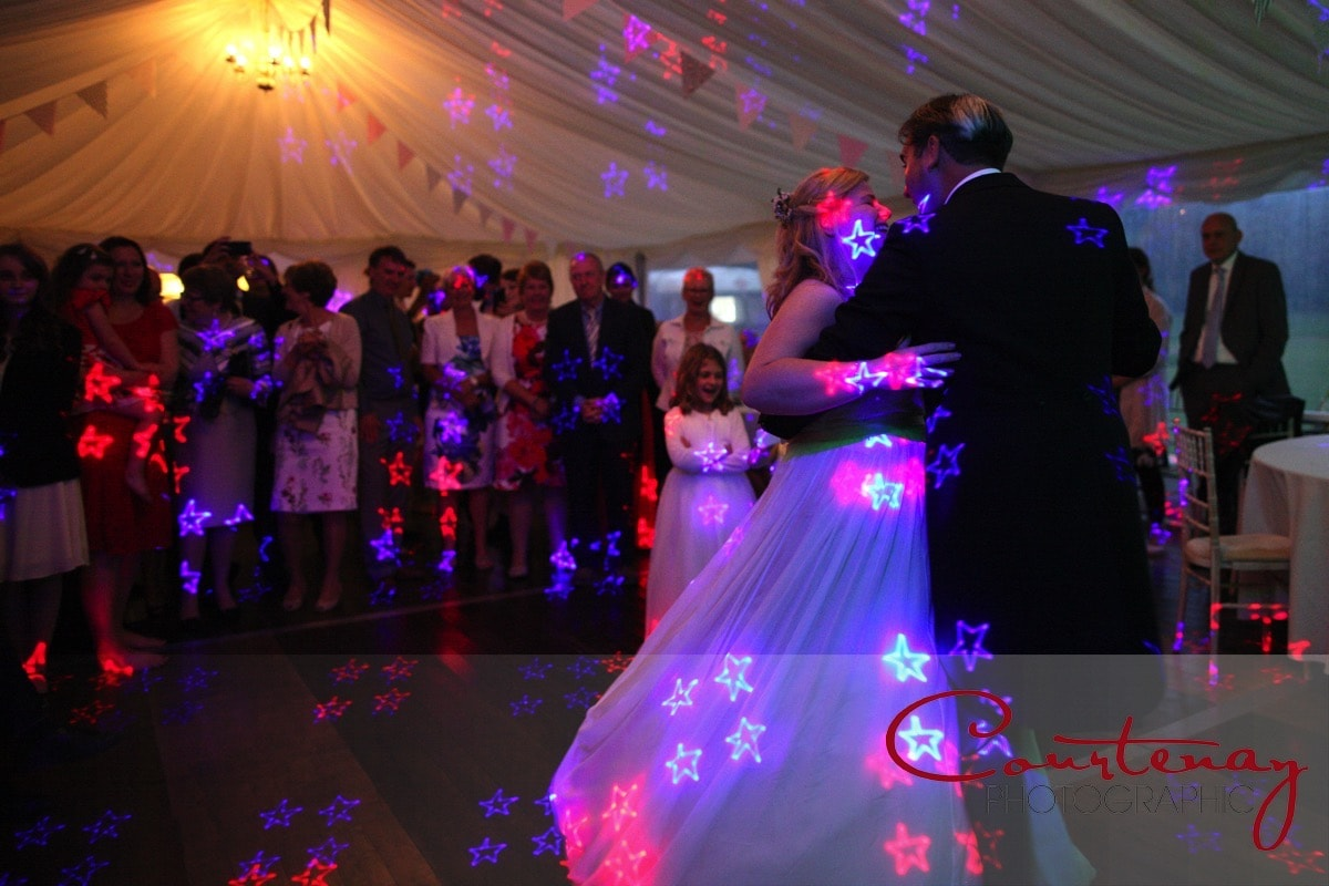 Southover House Wedding marquee first dance