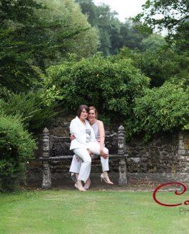 Chaffeymoor Grange Dorset wedding details of Natalie & Rebecca