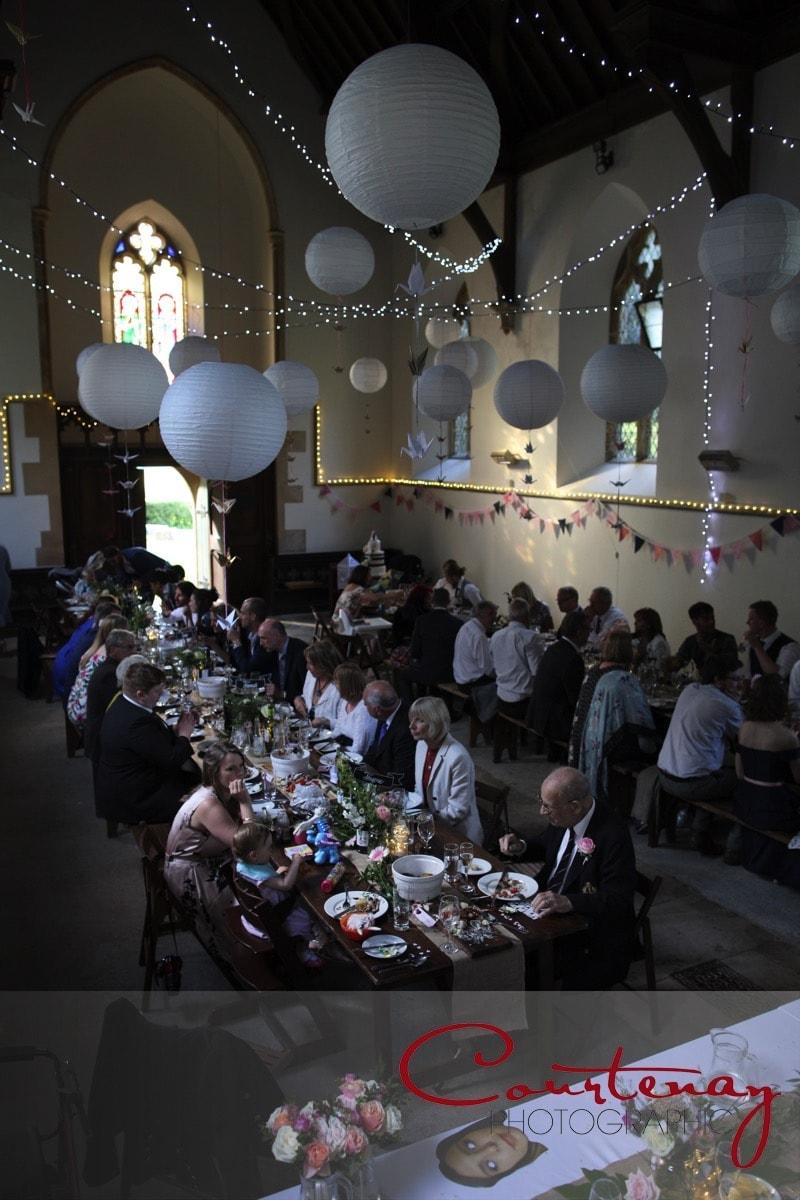 wedding reception chapel at  Plush Manor wedding