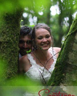 Milborne Wood Dorset Wedding of Joanna & Michael