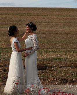 Hedge End Farm Dorset Wedding of Liz & Sam