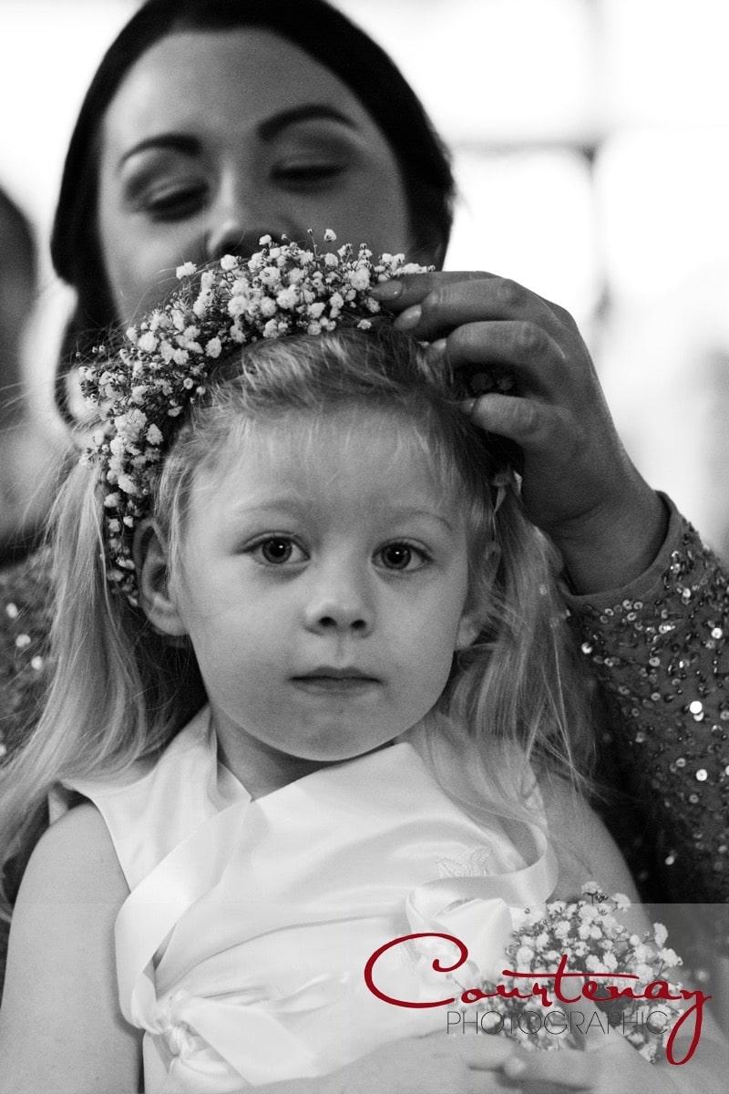 small bridesmaid