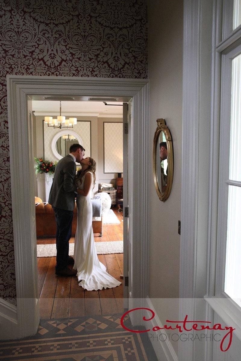 a quiet moment Abbots Court wedding