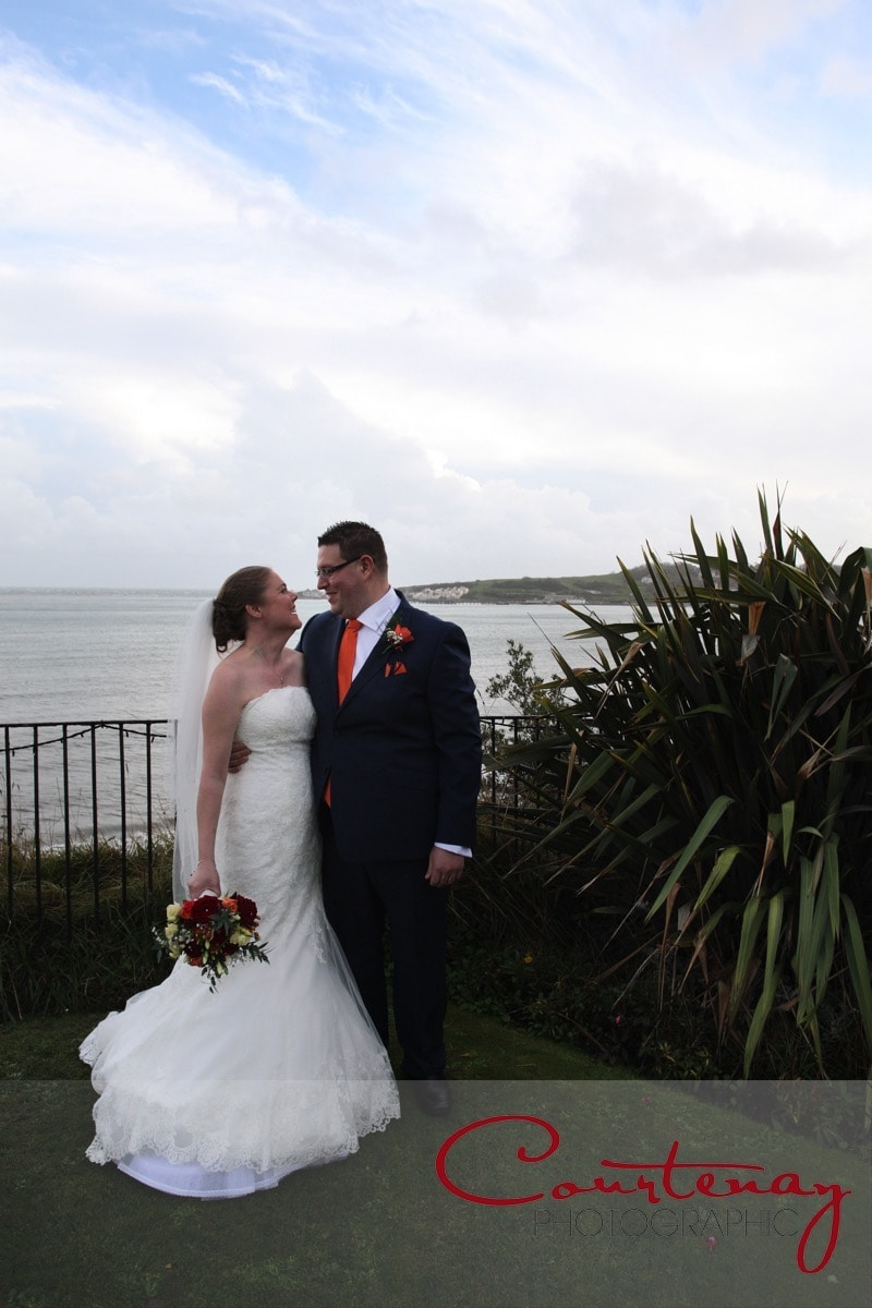 The Grand Hotel Swanage Dorset wedding of Clare & Neil