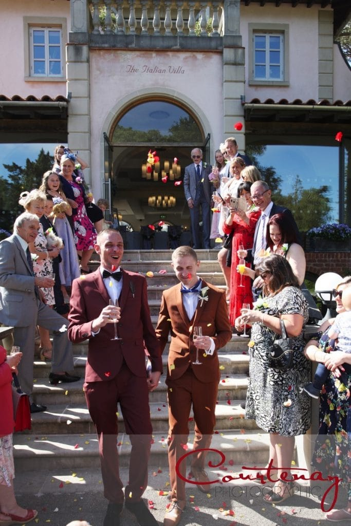 Gay Wedding confetti