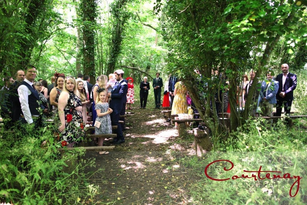 Dorset woodland Hayhouse Farm wedding