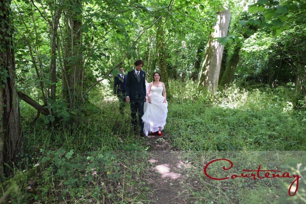 Dorset Hayhouse Farm wedding woodland