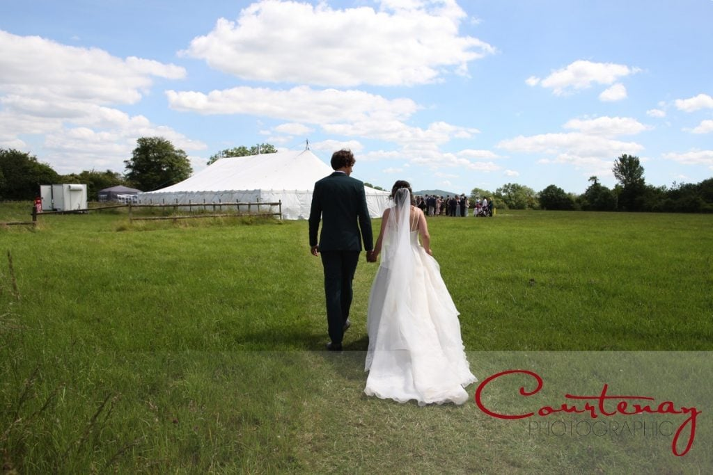 Hayhouse Farm wedding marquee