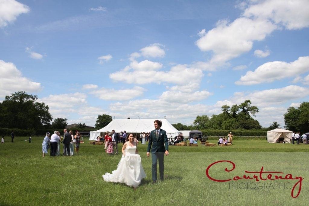 Hayhouse Farm wedding field