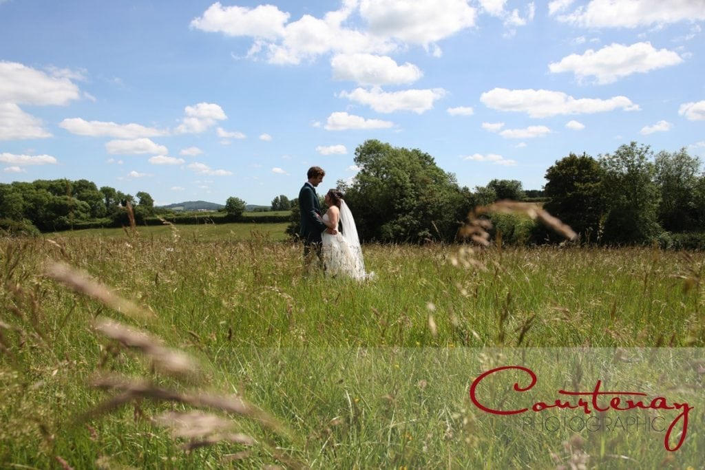 Rural Dorset marriage ceremony Hayhouse Farm wedding