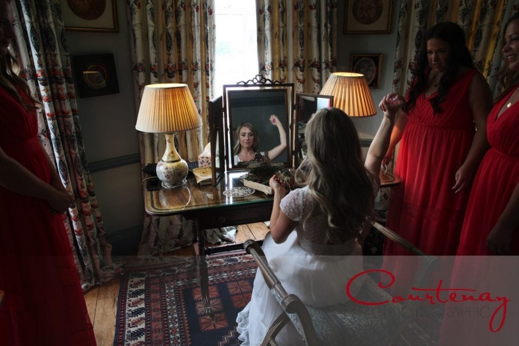 Smedmore House wedding bridal preps