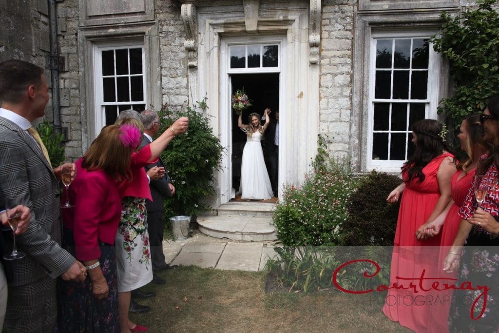 Smedmore House wedding bride