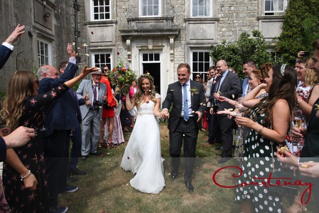 Smedmore House wedding confetti