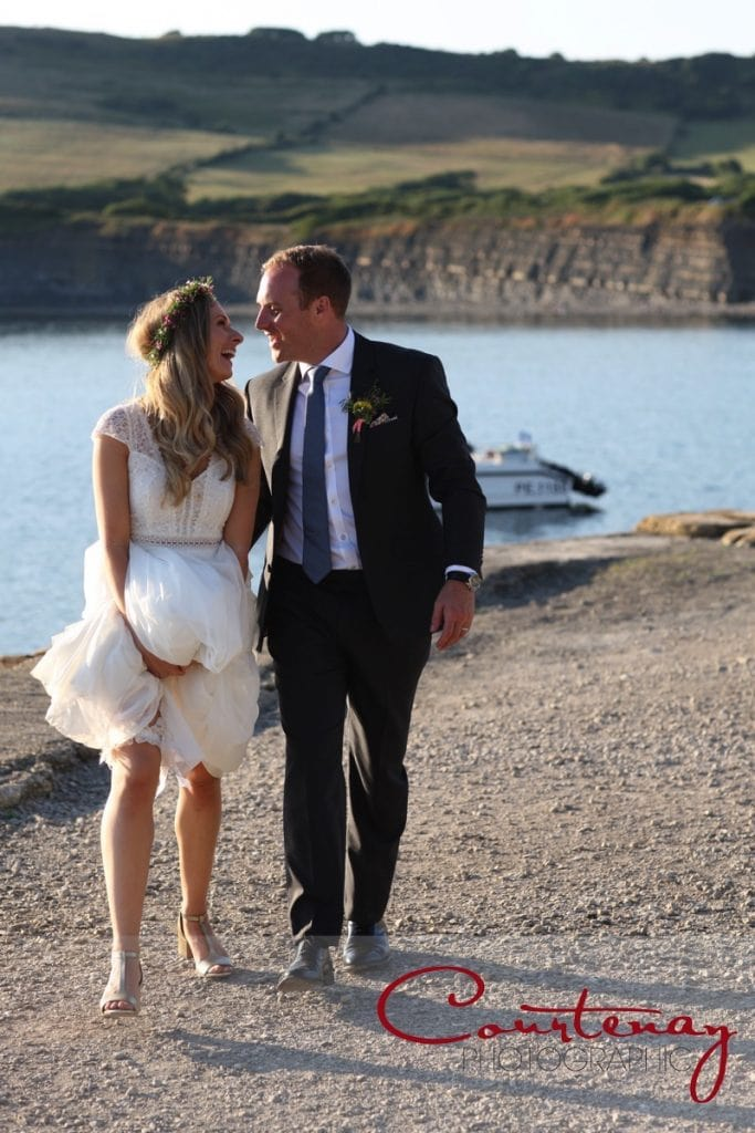 Smedmore House wedding by the sea dorset