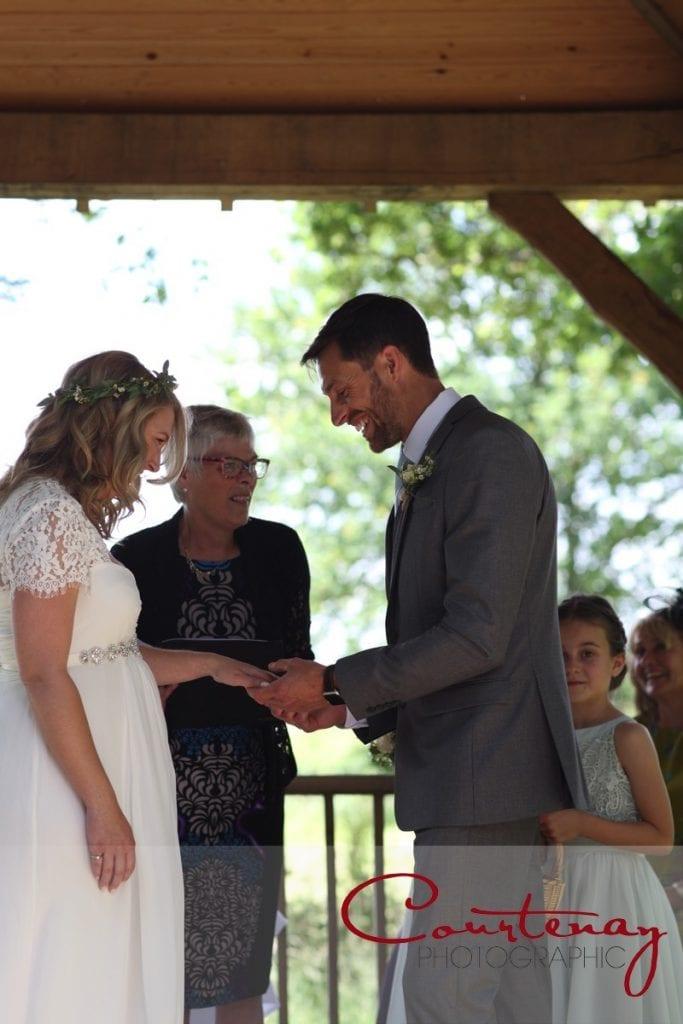 Coppleridge Inn Wedding with pregnant bride