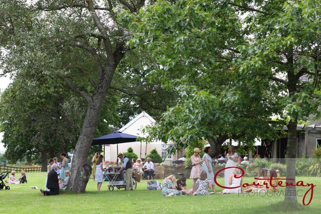 Coppleridge Inn Wedding gardens