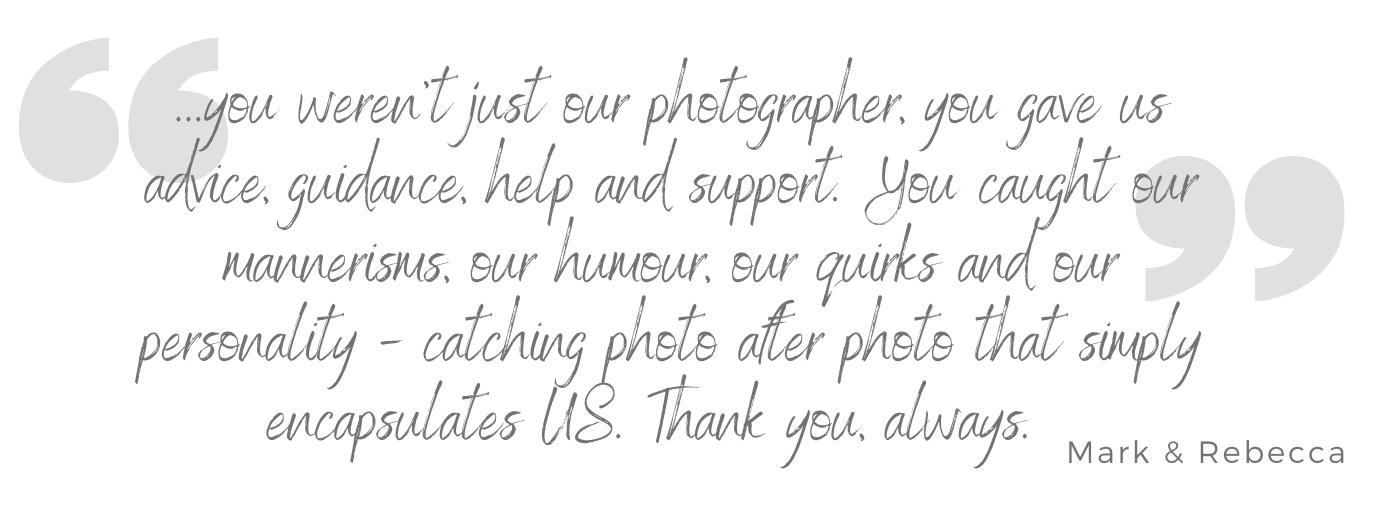 wedding photographer dorset reviews